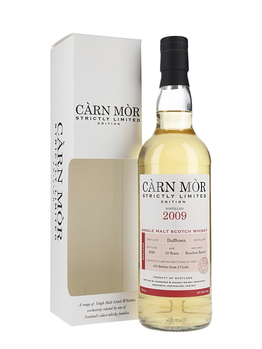 Dufftown 2009 / 10 Year Old / Carn Mor Speyside Whisky