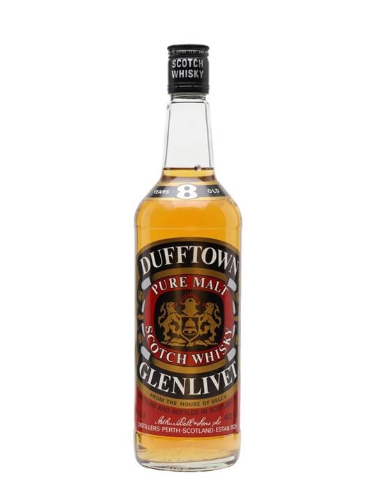 Dufftown Glenlivet 8 Year Old / Bot.1980s Speyside Whisky
