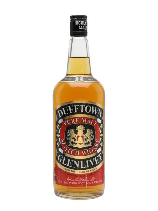 Dufftown-Glenlivet 8 Year Old / Bot.1980s Speyside Whisky