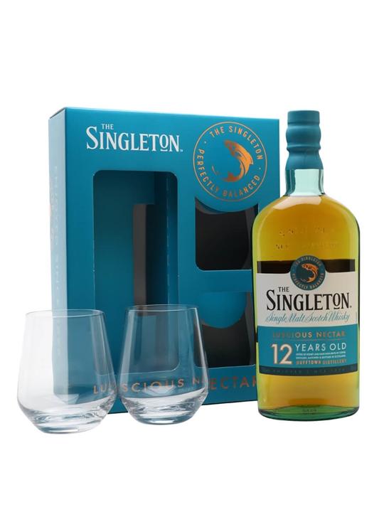 Singleton Of Dufftown 12 Year Old / 2 Glass Set Speyside Whisky