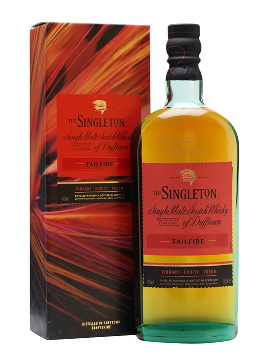 Singleton of Dufftown Tailfire Speyside Single Malt Scotch Whisky