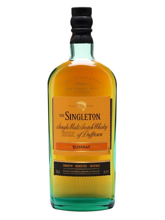 Singleton Of Dufftown Sunray Speyside Single Malt Scotch Whisky