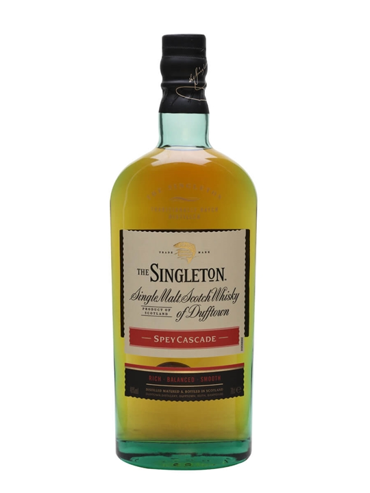 Singleton Of Dufftown Spey Cascade Speyside Single Malt Scotch Whisky
