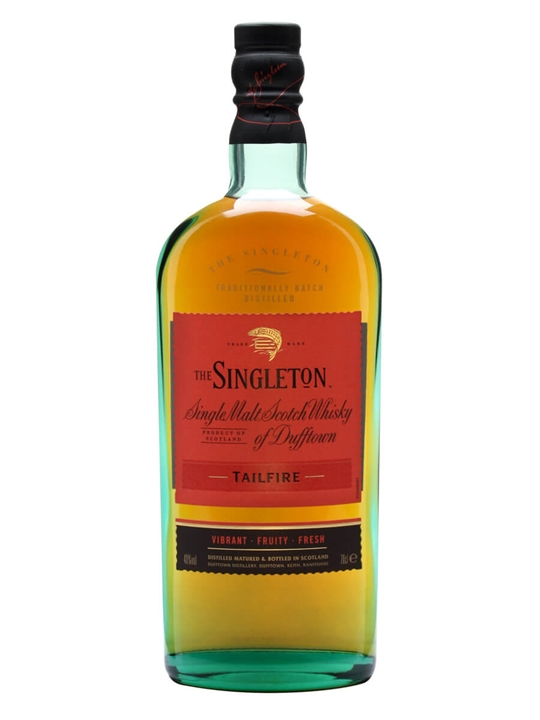 Singleton Of Dufftown Tailfire Speyside Single Malt Scotch Whisky