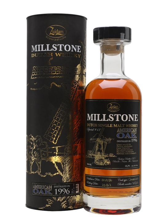 Zuidam Millstone 1996 Single Malt Dutch Single Malt Whisky