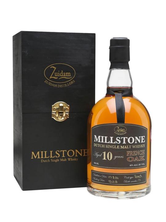 Millstone 2004 / 10 Year Old / French Oak Dutch Single Malt Whisky