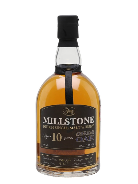 Zuidam Millstone 2006 / 10 Year Old / American Oak Dutch Whisky