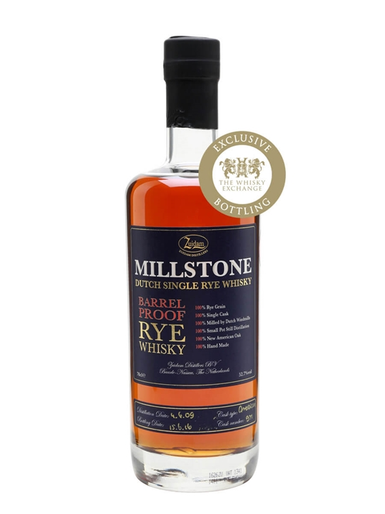 Zuidam Millstone 2009 Barrel Proof Rye / Twe Exclusive Dutch Whisky
