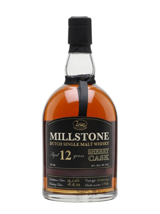 Zuidam Millstone 12 Year Old / Sherry Cask Dutch Single Malt Whisky