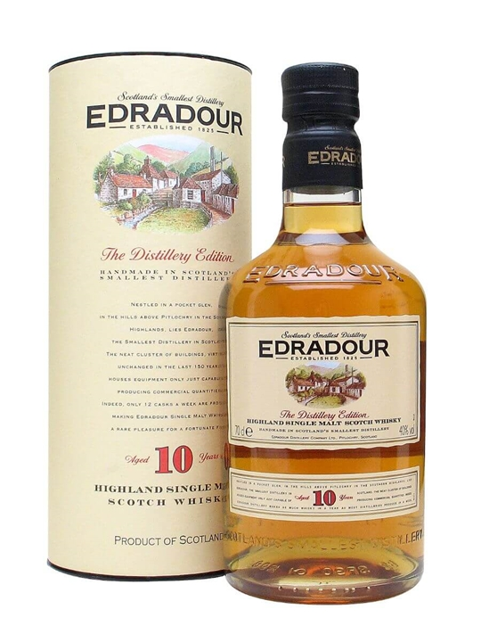 Edradour 10 Year Old Highland Single Malt Scotch Whisky
