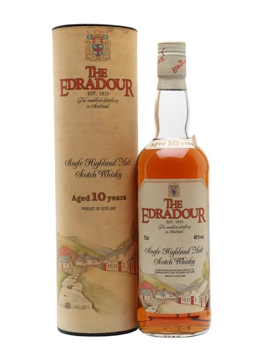 Edradour 10 Year Old / Bot.1980s Highland Single Malt Scotch Whisky