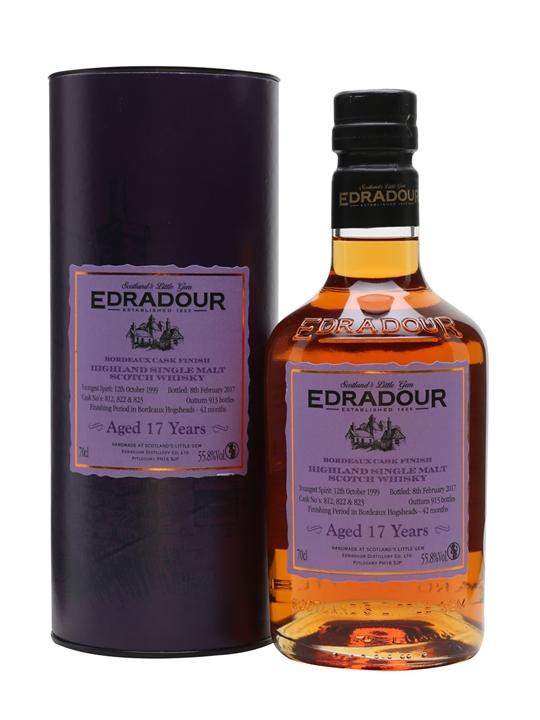 Edradour 1999 / 17 Year Old / Bordeaux Finish Highland Whisky