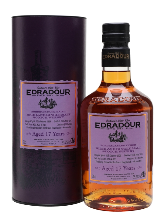 Edradour 1999 / 17 Year Old / Bordeaux Finish Highland Whisky