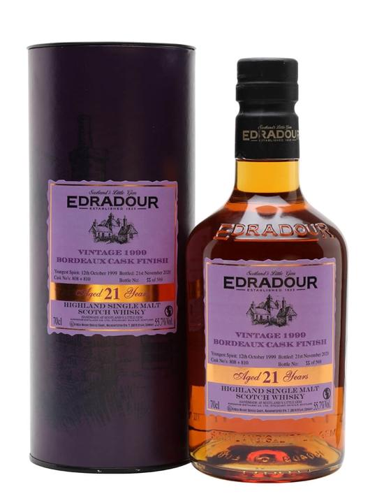 Edradour 1999 / 21 Year Old / Bordeaux Finish Highland Whisky