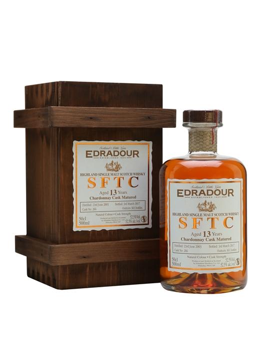 Edradour 2003 / 13 Year Old / Chardonnay Cask Highland Whisky