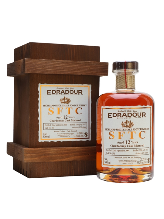 Edradour 2004 / 12 Year Old / Chardonnay / Cask #363 Highland Whisky