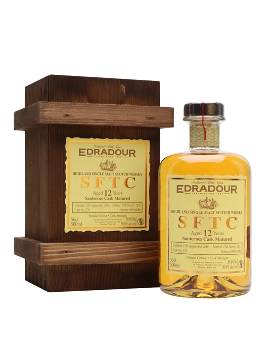 Edradour 2004 / 12 Year Old / Sauternes / Cask #370 Highland Whisky