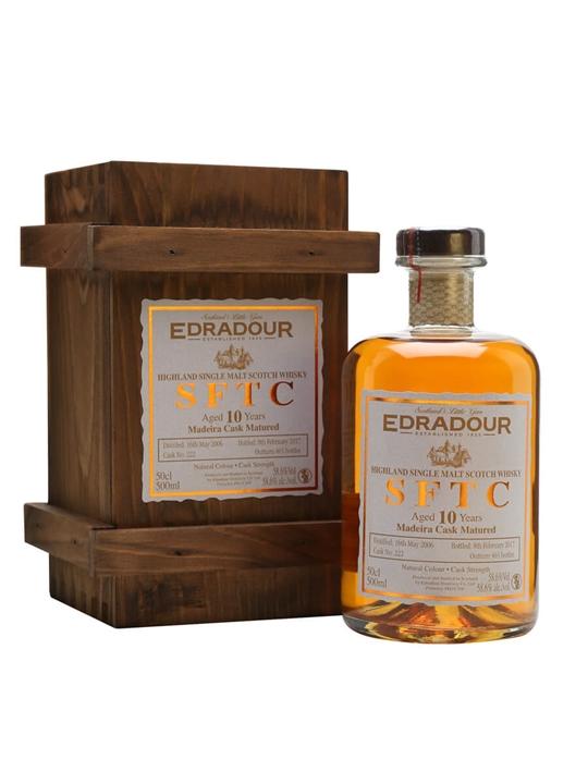 Edradour 2006 / 10 Year Old / Madeira Cask Highland Whisky