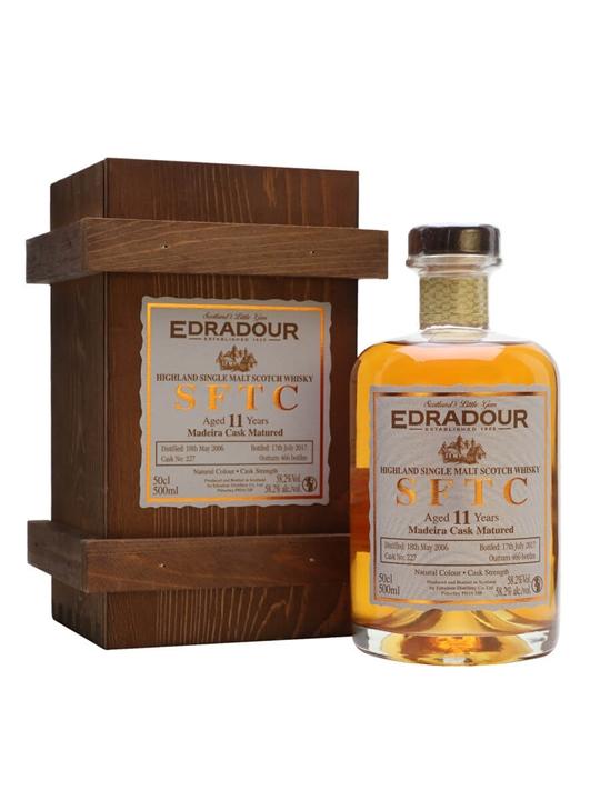 Edradour 2006 / 11 Year Old / Madeira / Cask #227 Highland Whisky