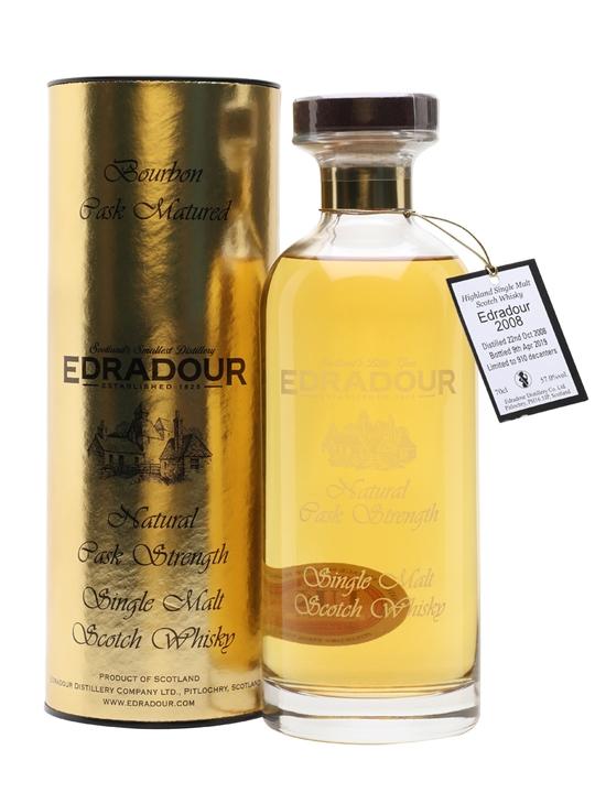 Edradour 2008 / 10 Year Old / Bourbon Cask Highland Whisky