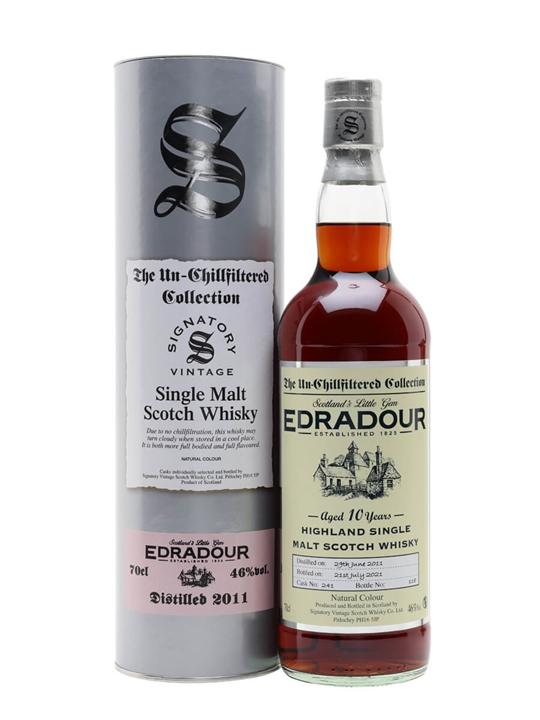 Edradour 2011 / 10 Year Old / Signatory Highland Whisky