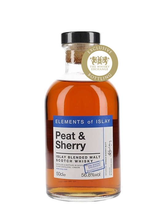 Elements Of Islay Peat & Sherry / Twe Exclusive Islay Whisky