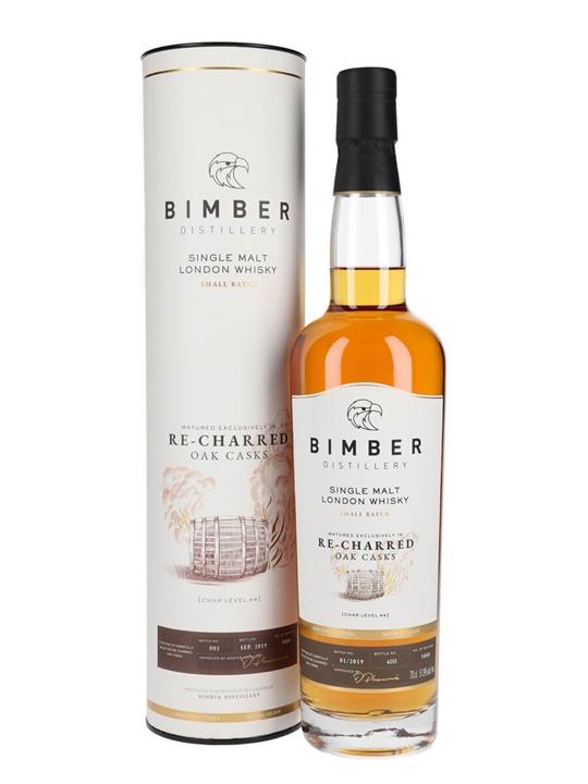 Bimber Recharred Cask Single Malt Whisky / Batch 1 Single Whisky