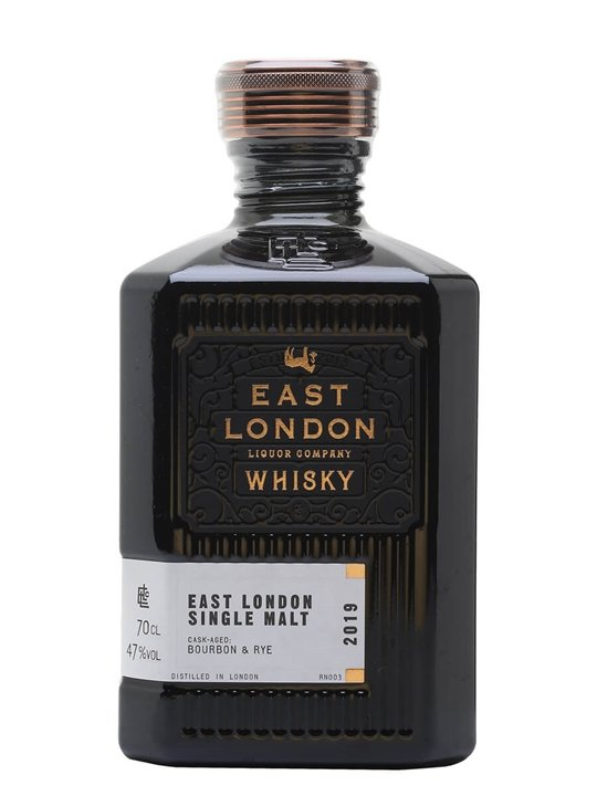 East London Liquor Co Single Malt Whisky East London Single Malt