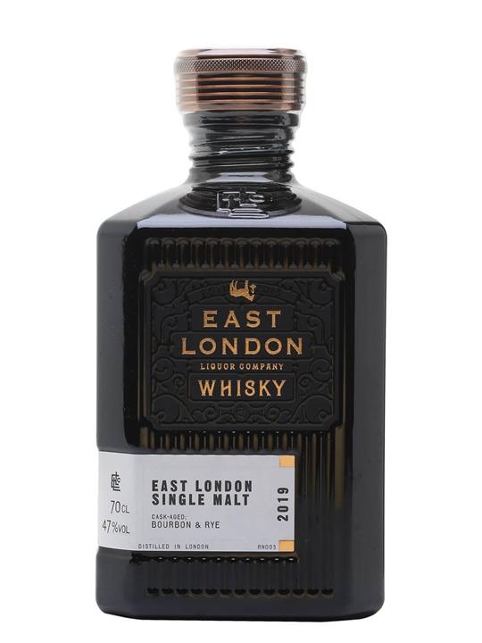 East London Liquor Co Single Malt Whisky East London Single Malt