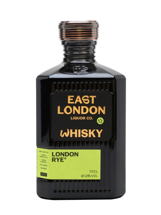 East London Liquor Co London Rye Whisky / Bot.2020 English Rye Whisky