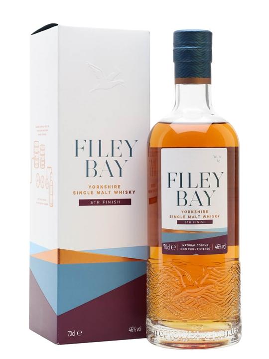Filey Bay STR Wine Cask Finish Single Malt English Whisky