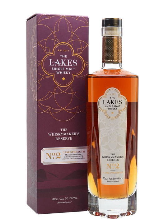 The Lakes Single Malt / The Whiskymaker's Reserve No.2 English Whisky