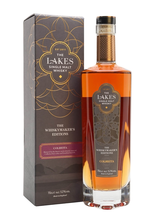 The Lakes Whiskymaker's Editions Colheita English Single Malt Whisky