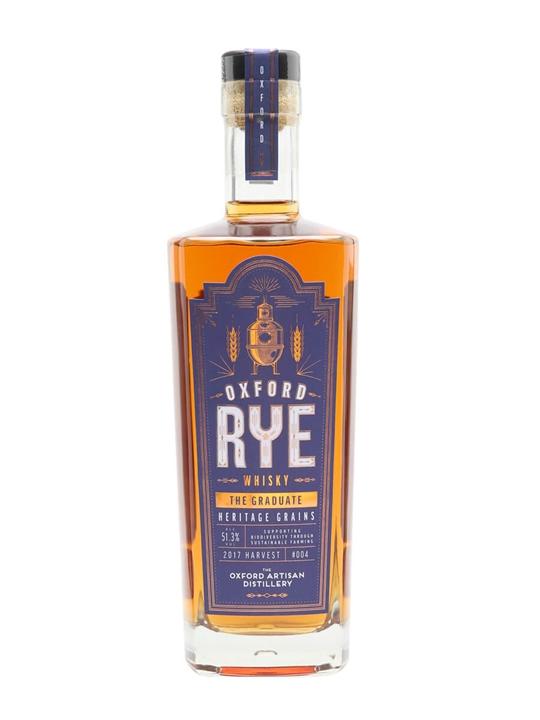 Oxford Rye Whisky 004 Graduate English Single Malt Whisky