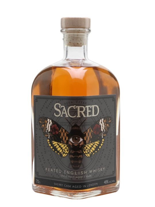 Sacred Peated English Whisky English Single Malt Whisky