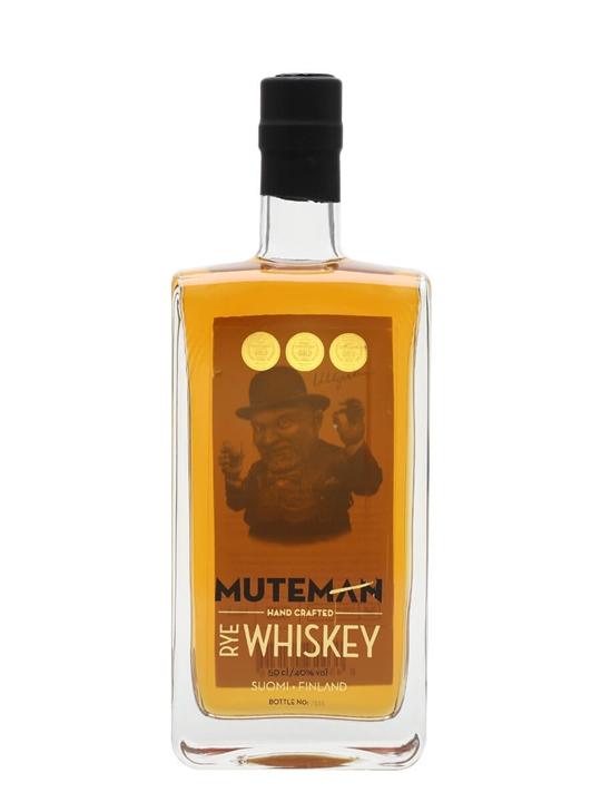 Muteman Rye Whiskey Finnish Rye Whiskey