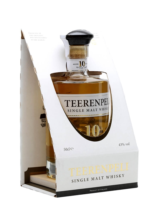 Teerenpeli 10 Year Old Single Malt Finnish Single Malt Whisky