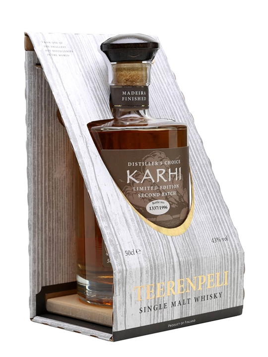 Teerenpeli Distiller's Choice Karhi / Madeira Finish Finnish Whisky