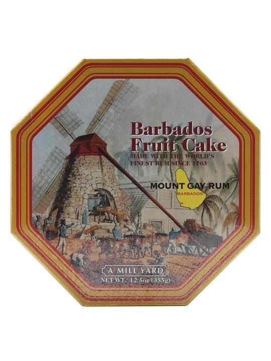 Barbados Fruit Cake With Mount Gay Rum / 355g