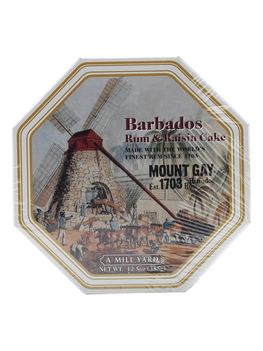 Barbados Rum & Raisin / Cake With Mount Gay Rum / 355g