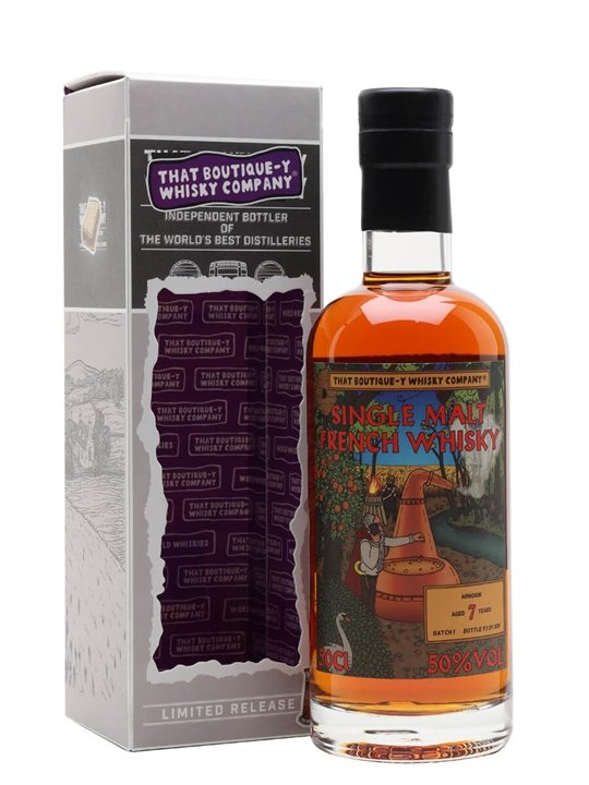 Armorik 7 Year Old / Batch 1 / That Boutique-y Whisky Company Single Whisky