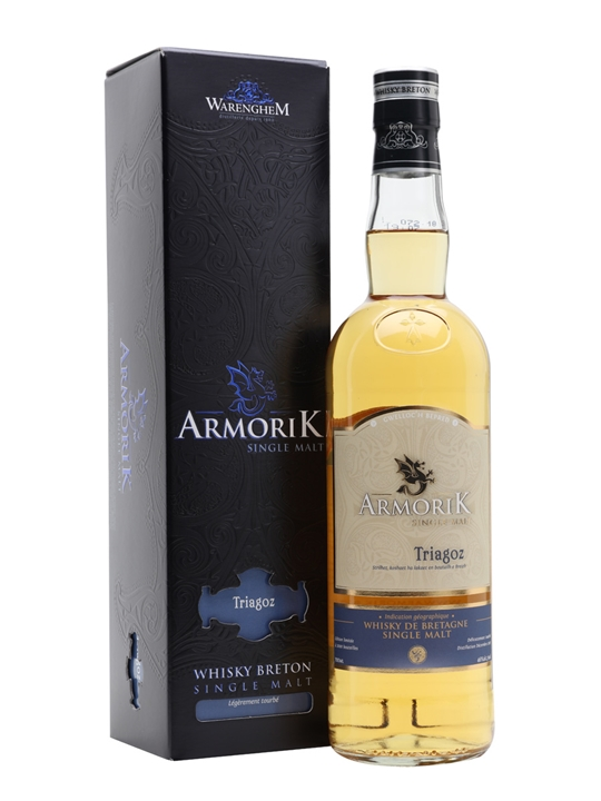 Armorik Triagoz Breton Peated single malt French Single Malt Whisky
