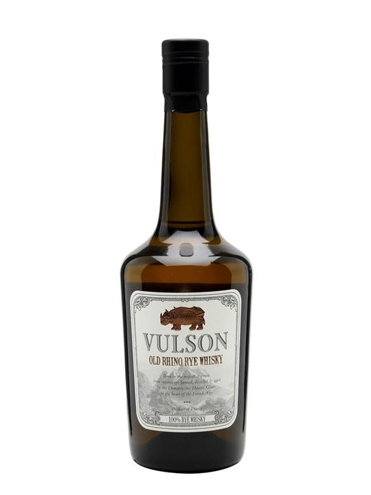 Vulson Old Rhino / Rye Whisky French Rye Whisky