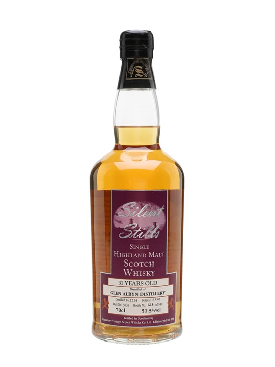 Glen Albyn 1965 / 31 Year Old / Silent Stills Highland Whisky