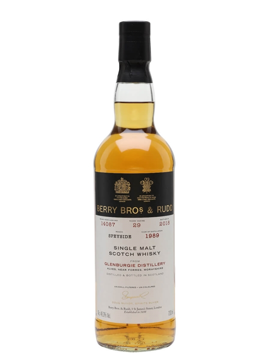 Glenburgie 1989 / 29 Year Old / Berry Brothers and Rudd Speyside Whisky