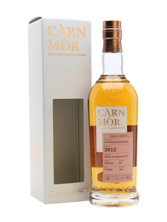 Glenburgie 2012 /  Carn Mor Strictly Limited Speyside Whisky