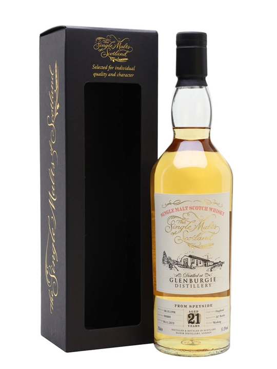 Glenburgie 1998 / 21 Year Old / Single Malts of Scotland Speyside Whisky