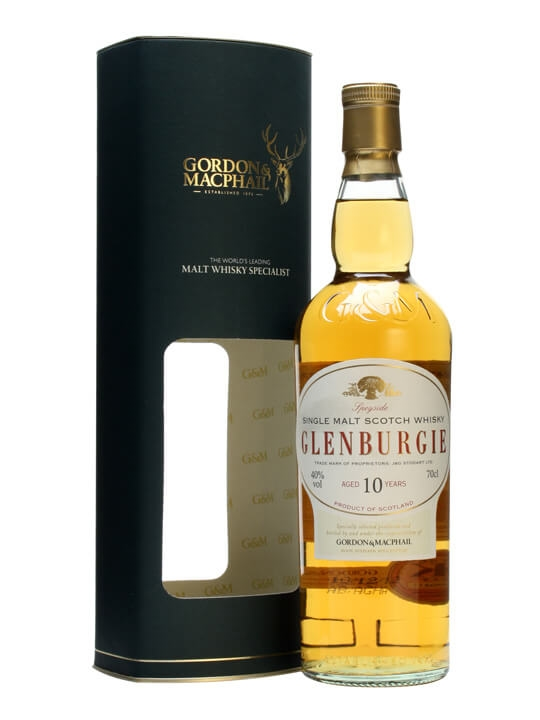 Glenburgie 10 Year Old / Gordon & Macphail Speyside Whisky