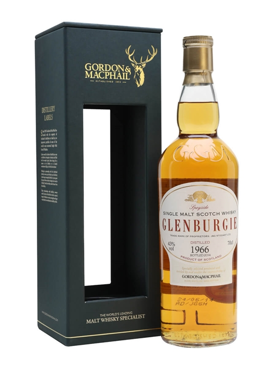 Glenburgie 1966 / 47 Year Old / Gordon & MacPhail Speyside Whisky