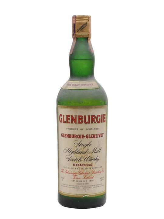Glenburgie 5 Year Old / Bot.1970s Speyside Single Malt Scotch Whisky